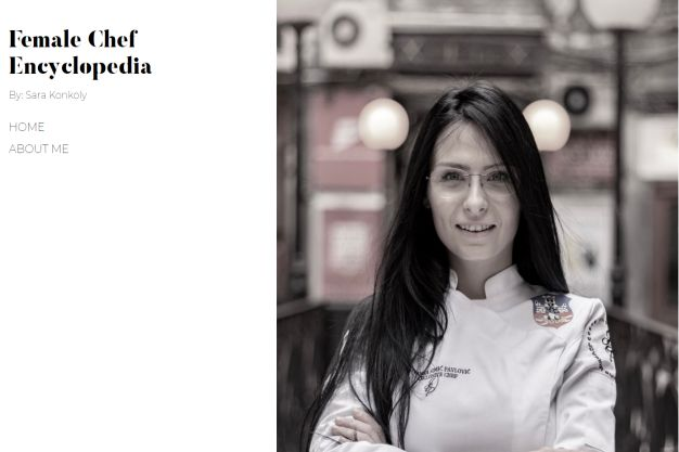 Female chef encyclopedia jovanka Simic Pavlovic